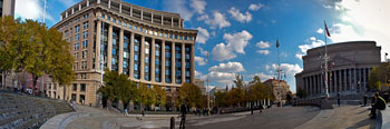 Panorama in Penn Quarter, Washington DC