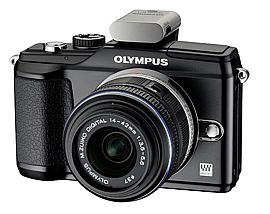 Olympus E-PL-2 with PENpal Bluetooth Adapter