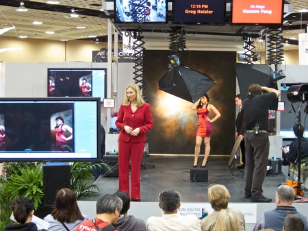 Canon Booth, WPPI 2010
