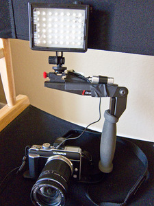 Olympus E-PL1 HD Movie Recording Rig