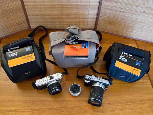 Lowepro Bags for Micro 4/3 Cameras