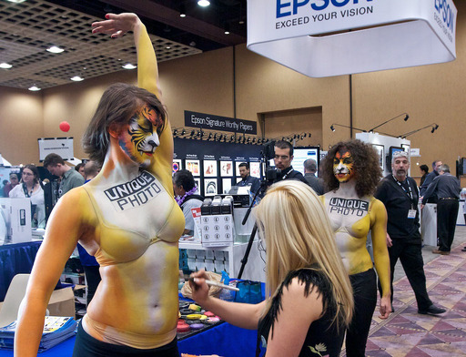 Body Painting at WPPI 2011