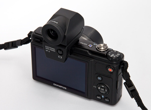 Olympus XZ-1 with VF-2 Electronic Viewfinder