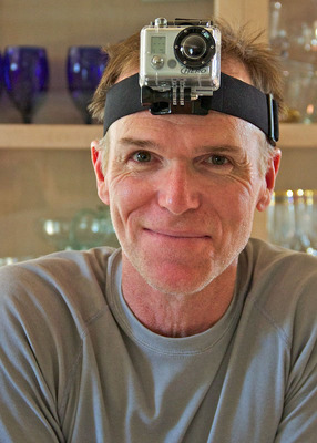 Pat with GoPro HD Hero