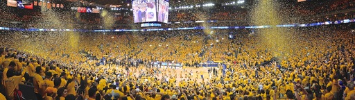 Golden State Warriors Win Round 1 Oracle Arena
