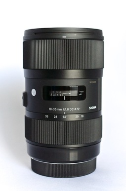 Sigma 18-35mm f/1.8 zoom lens